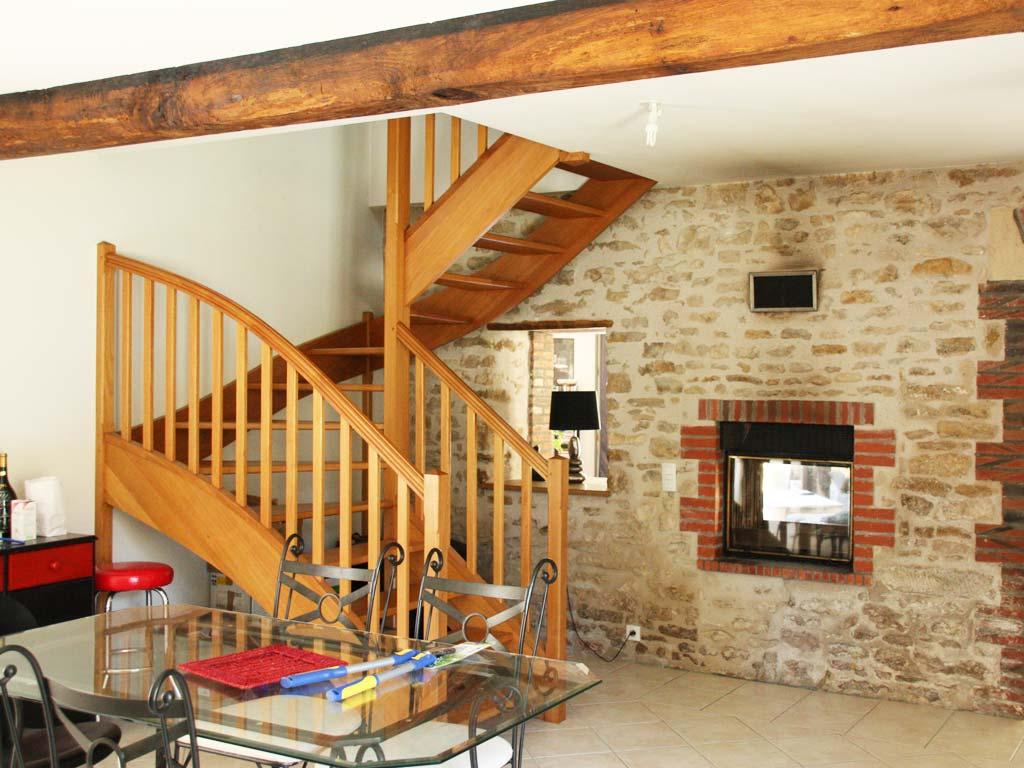 Restauration de maisons anciennes, exemple en Vendée